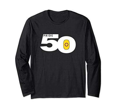 Pride 50 Intersex Pride Flag Long Sleeve T-Shirt