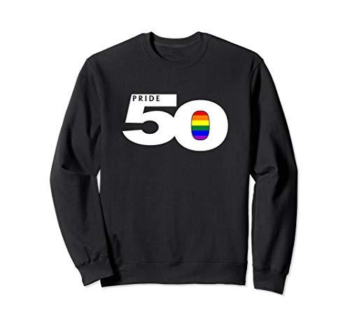 Pride 50 LGBTQ Gay Pride Flag Sweatshirt