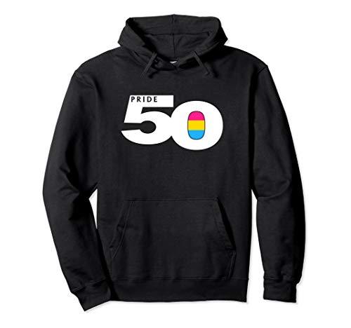 Pride 50 Pansexual Pride Flag Pullover Hoodie