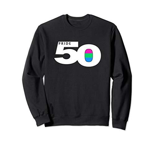 Pride 50 Polysexual Pride Flag Sweatshirt
