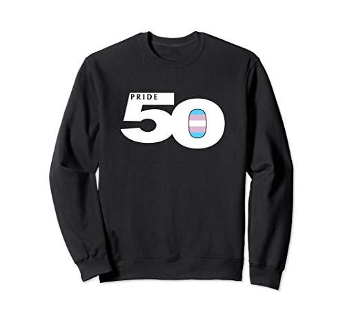 Pride 50 Transgender Pride Flag Sweatshirt