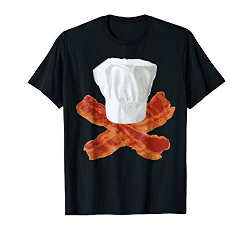 Bacon Chef Hat T-Shirt