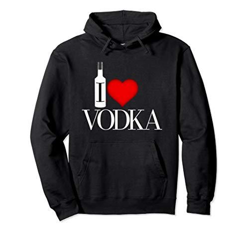 I Heart Vodka Pullover Hoodie