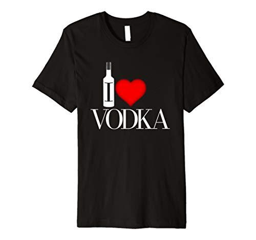 I Heart Vodka Premium T-Shirt