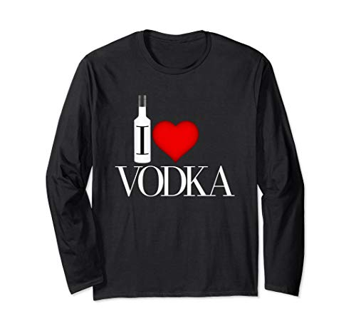 I Heart Vodka Long Sleeve T-Shirt