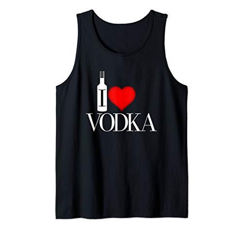 I Heart Vodka Tank Top