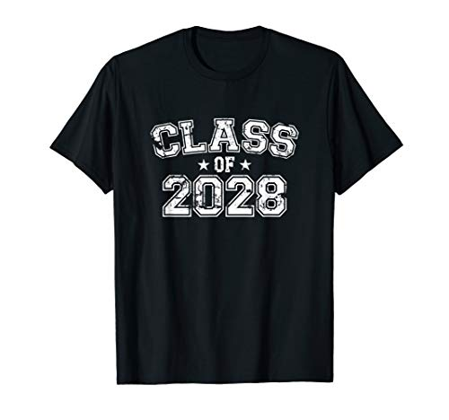 Distressed Class of 2028 T-Shirt