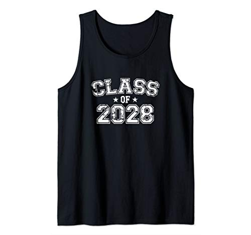 Distressed Class of 2028 Tank Top