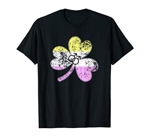 Gay Twink Shamrock Pride Flag T-Shirt