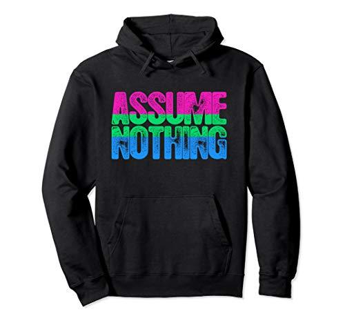 Assume Nothing Polysexual Pride Pullover Hoodie