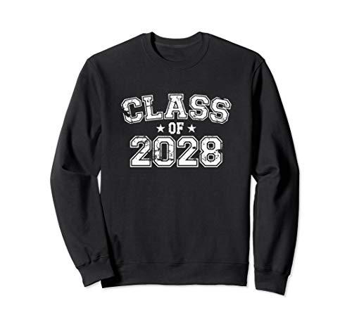 Distressed Class of 2028 Sweatshirt
