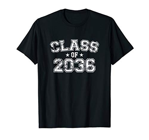 Distressed Class of 2036 T-Shirt