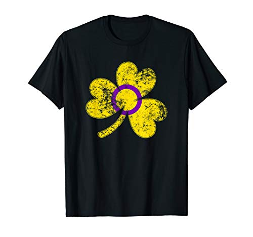 Intersex Shamrock Pride Flag T-Shirt