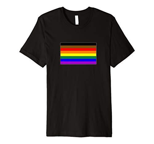 Philly LGBTQ Gay Pride Flag Premium T-Shirt