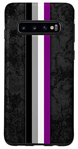 Galaxy S10 Asexual Pride Flag Stripe Case