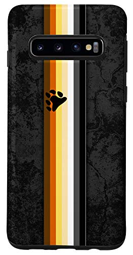 Galaxy S10 Gay Bear Pride Flag Stripe Case