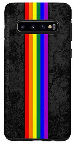 Galaxy S10 LGBTQ Pride Flag Stripe Case