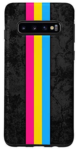 Galaxy S10 Pansexual Pride Flag Stripe Case