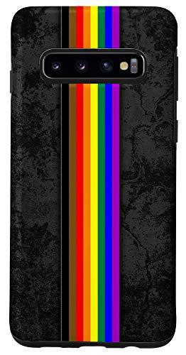 Galaxy S10 Philly Inclusive LGBTQ Pride Flag Stripe Case