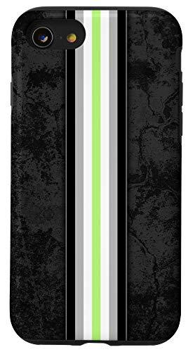 iPhone SE (2020) / 7 / 8 Agender Pride Flag Stripe Case
