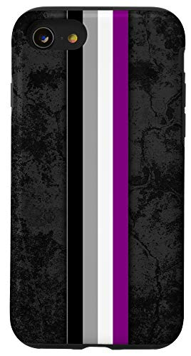 iPhone SE (2020) / 7 / 8 Asexual Pride Flag Stripe Case