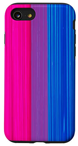 iPhone SE (2020) / 7 / 8 Bisexual Pride Flag Paint Strokes Case