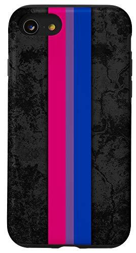 iPhone SE (2020) / 7 / 8 Bisexual Pride Flag Stripe Case