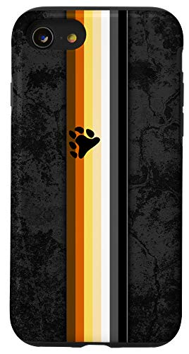 iPhone SE (2020) / 7 / 8 Gay Bear Pride Flag Stripe Case