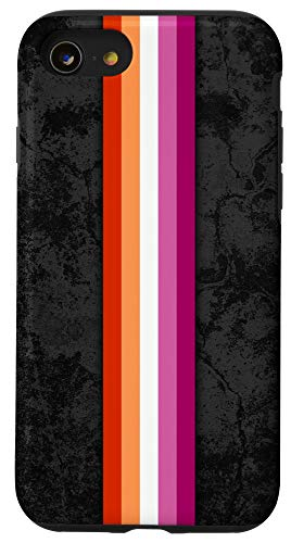 iPhone SE (2020) / 7 / 8 Lesbian Pride Flag Stripe Case