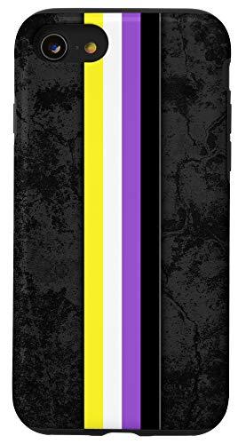 iPhone SE (2020) / 7 / 8 Nonbinary Pride Flag Stripe Case