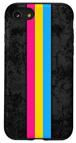 iPhone SE (2020) / 7 / 8 Pansexual Pride Flag Stripe Case