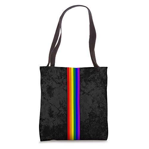 LGBTQ Pride Flag Stripe Tote Bag