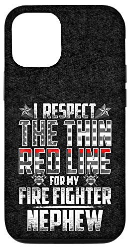 iPhone 12/12 Pro Nephew Fire Fighter Thin Red Line Case