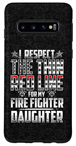 Galaxy S10 Daughter Fire Fighter Thin Red Line Case