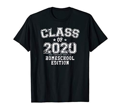 Distressed Class of 2020 - Homeschool Edition T-Shirt