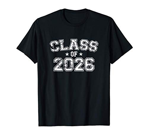 Distressed Class of 2026 T-Shirt