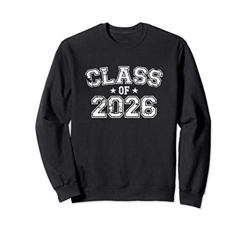 Distressed Class of 2026 Sweatshirt