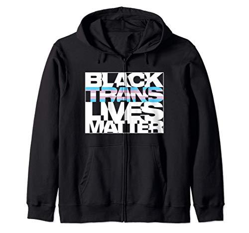 Black Trans Lives Matter Zip Hoodie