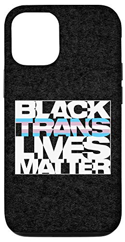iPhone 12/12 Pro Black Trans Lives Matter Case