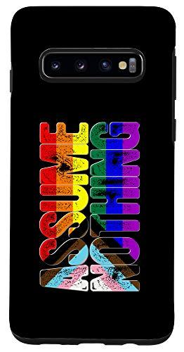 Galaxy S10 LGBTQ Progress Pride Flag Ripped Reveal Case