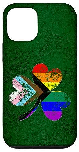 iPhone 12/12 Pro LGBTQ Progress Pride Shamrock Case