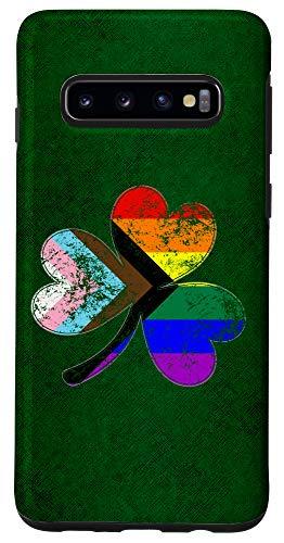 Galaxy S10 LGBTQ Progress Pride Shamrock Case