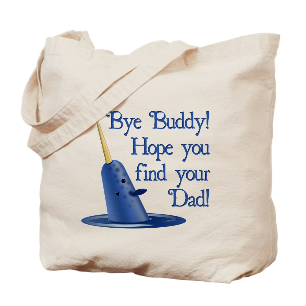 Mr. Narwhal Quote from Elf Tote Bag