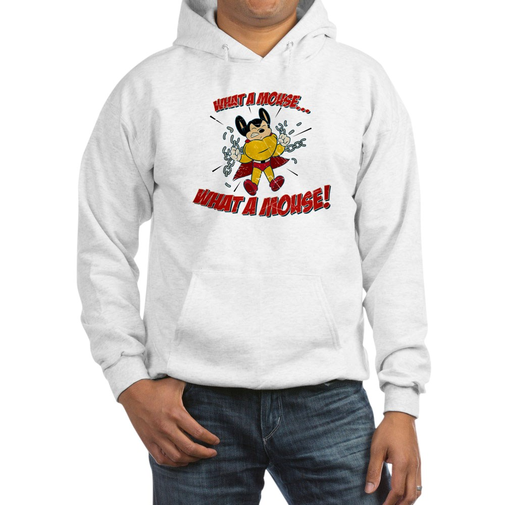 Mighty Mouse - What a Mouse! Hooded Sweatshirt