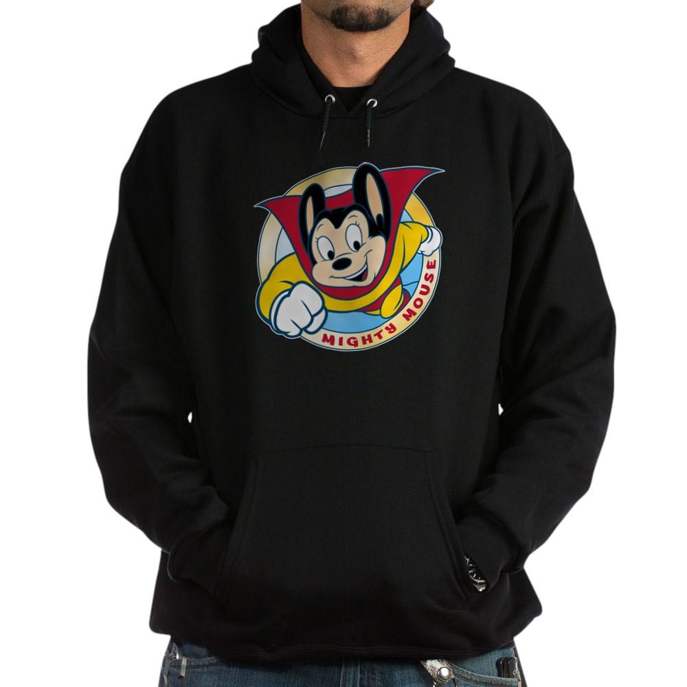 Mighty Mouse Dark Hoodie