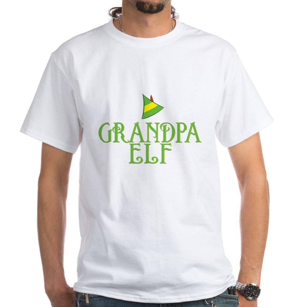 Grandpa Elf White T-Shirt