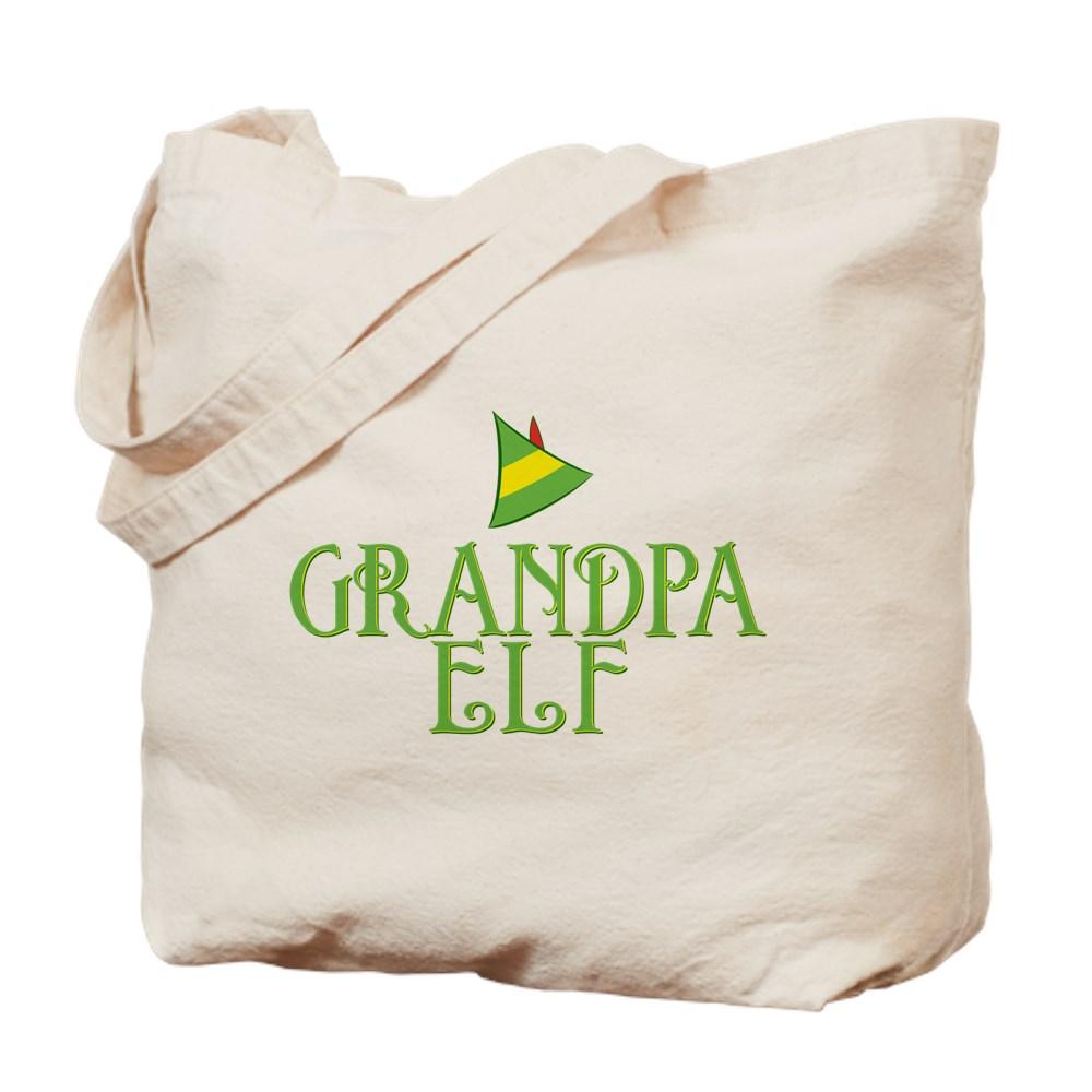 Grandpa Elf Tote Bag