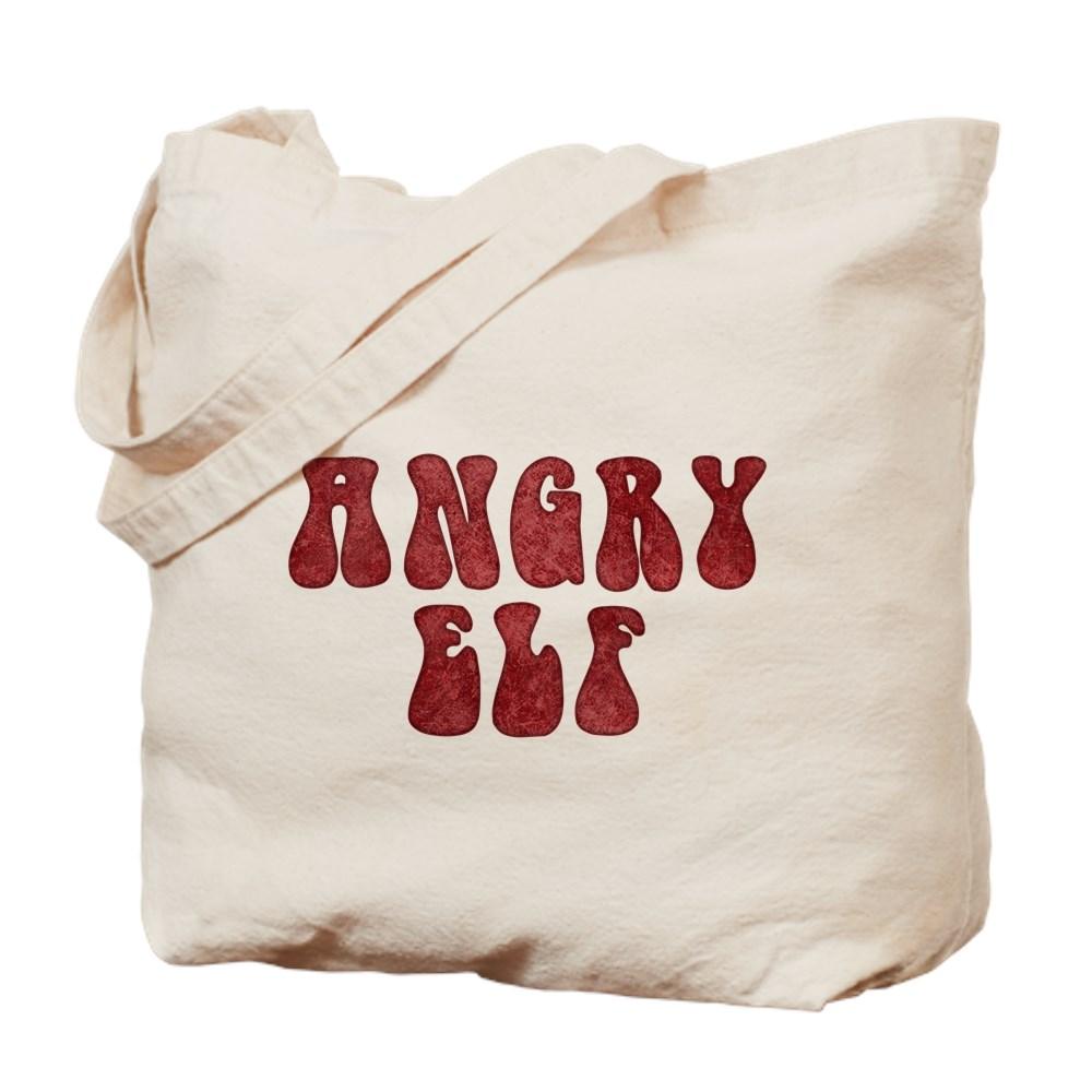Angry Elf Tote Bag