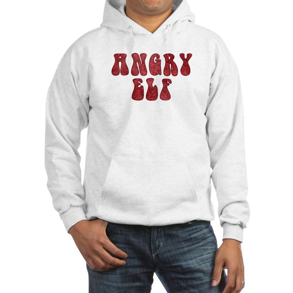 Angry Elf Hooded Sweatshirt