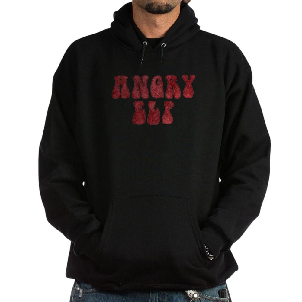Angry Elf Dark Hoodie